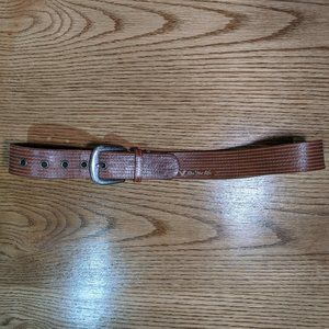 American Eagle Women's Brown Belt Small Leather